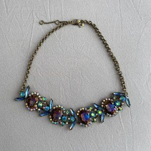Banana Republic Iridescent Statement Necklace